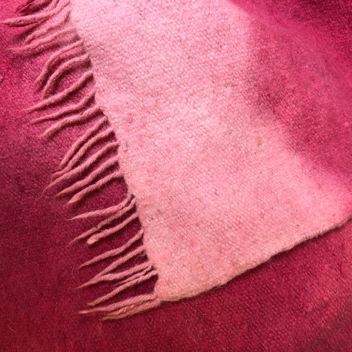 Medium Wool Rug in Cochineal