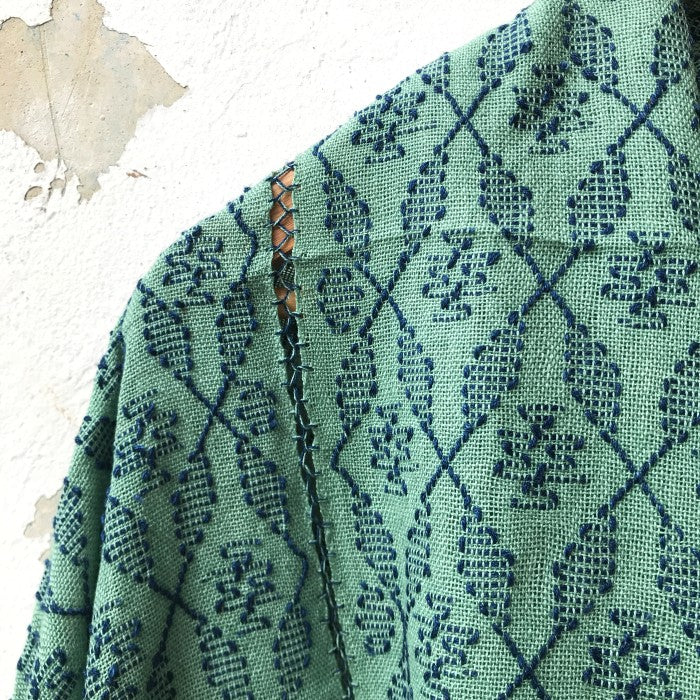 Picbil Shawl in Mint
