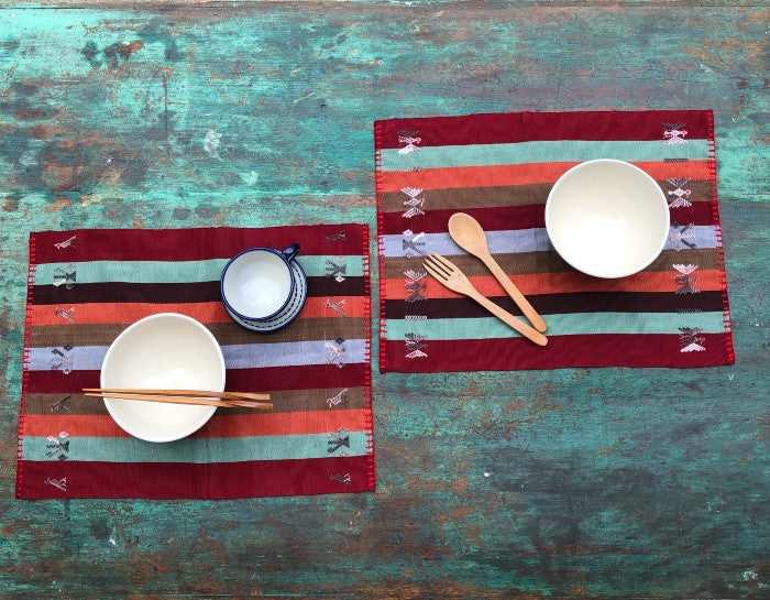 Placemats 4: set of six