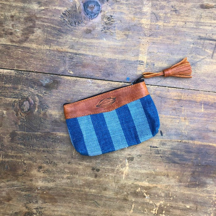 Textile + Leather Pouch 7