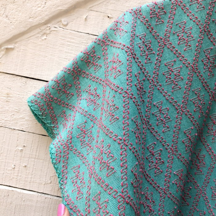 Summer Cardigan Mint + Rose