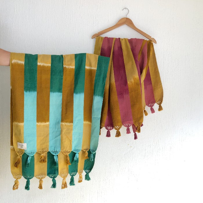 Watercolor Dream Shawl