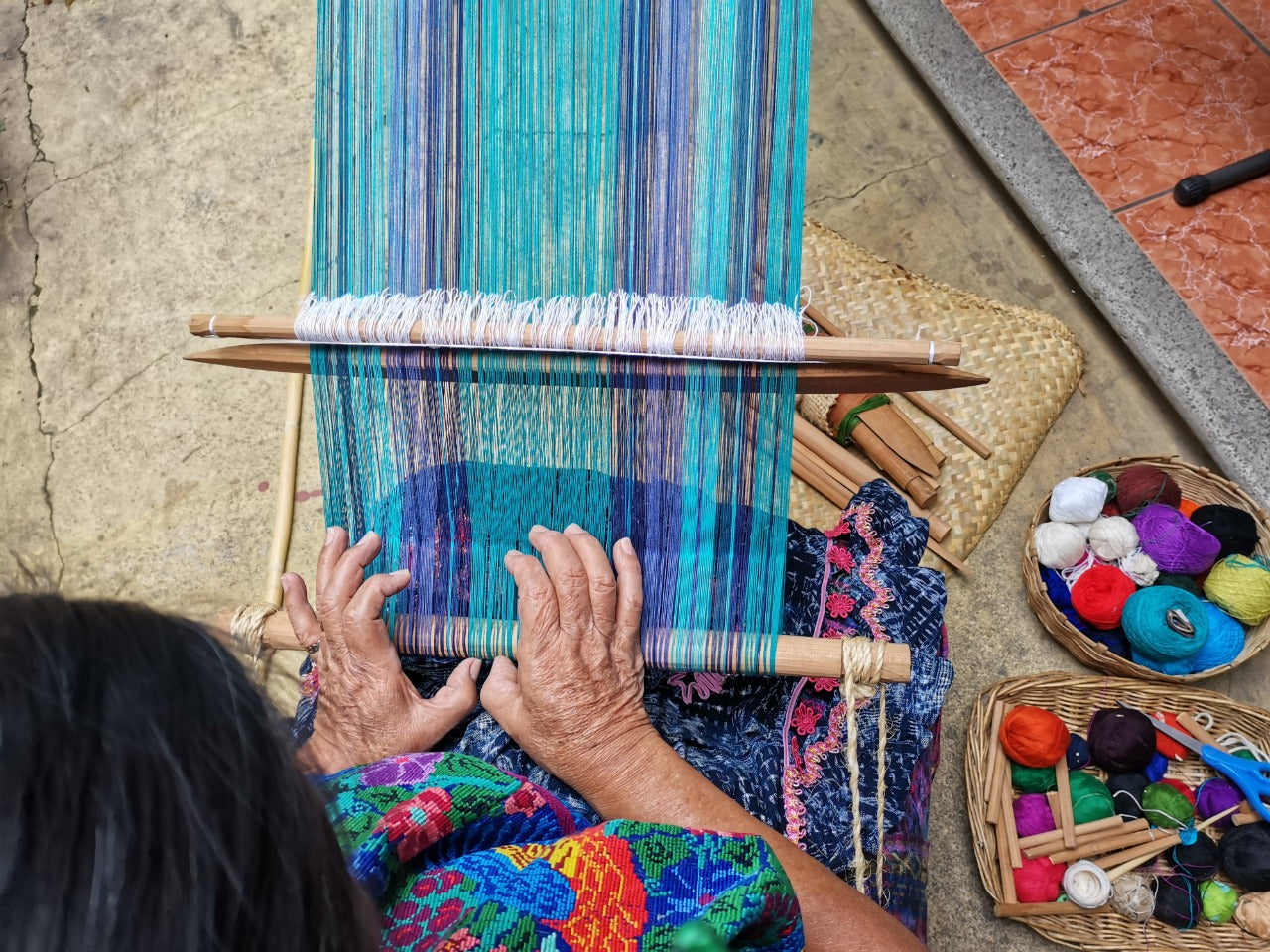 Loom Set-Up Class with Doña Lidia / Saturday May 15, 10-11am Guatemala time