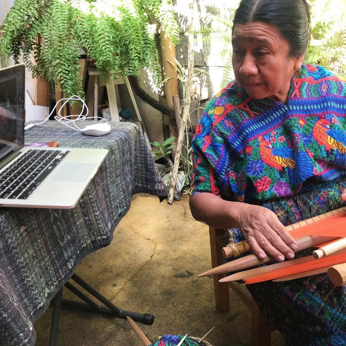 Weave-along practice session with Doña Lidia / Saturday April 24, 12-1pm Guatemala time