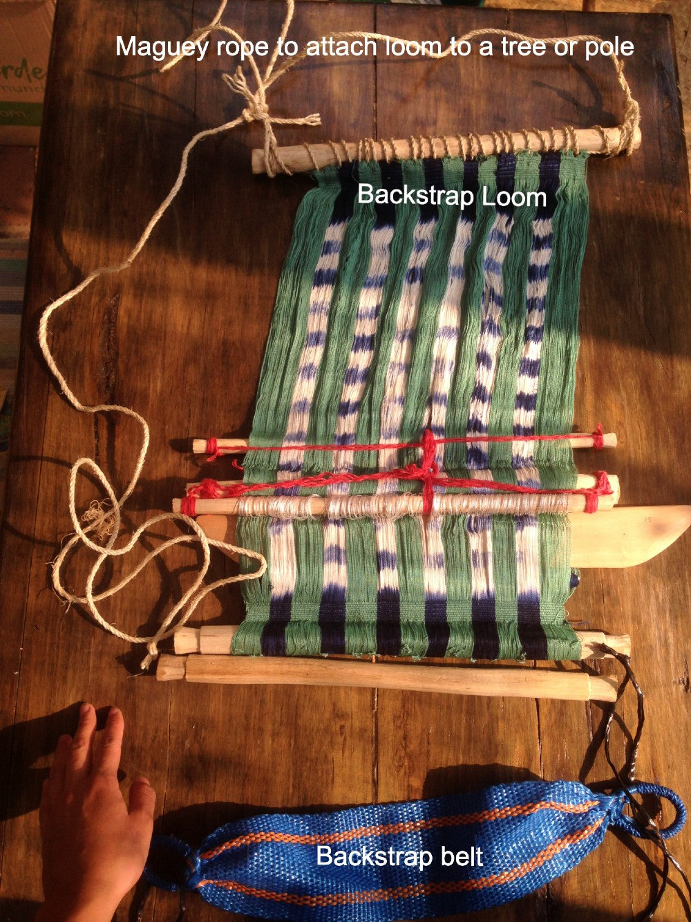 Practice Backstrap Loom Kit