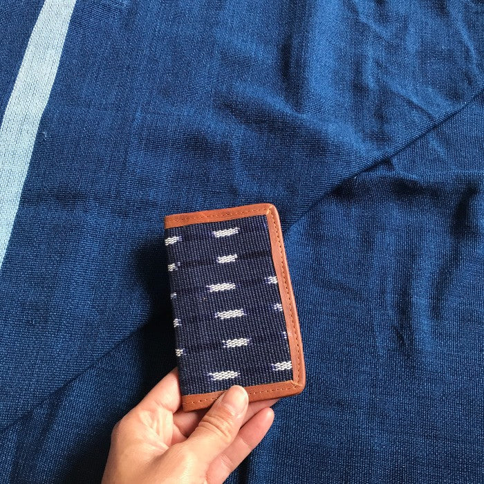 card holder indigo stars in the sky