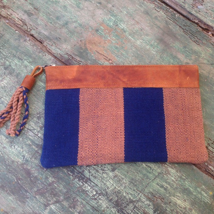Handspun Cotton Clutch 2