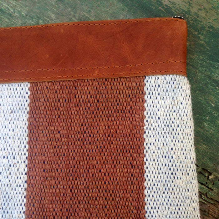Handspun Cotton Clutch 3