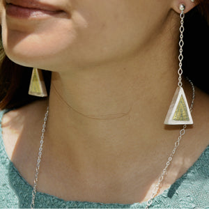 Silver Ixil Earrings