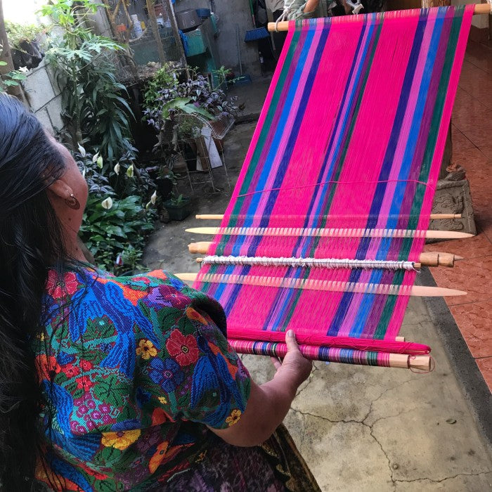 Advanced Special Topic Class: Four Selvage Loom Set-up / January 2, 1-2pm Guatemala time (2021)