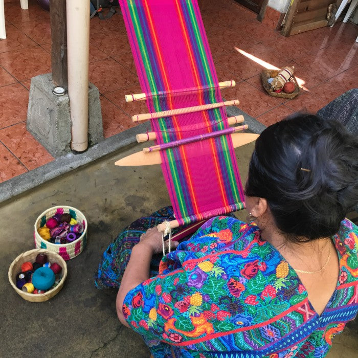 Online beginner plain weave class with Doña Lidia / Saturday March 13, 11am-12noon Guatemala Time(2021)