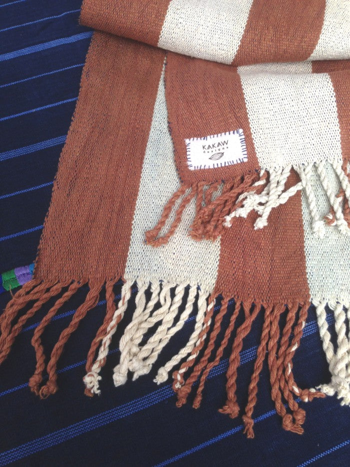Handspun Cotton Rebozo 3