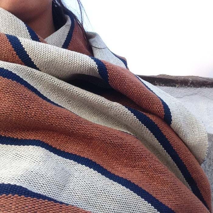 Handspun Cotton Rebozo 1