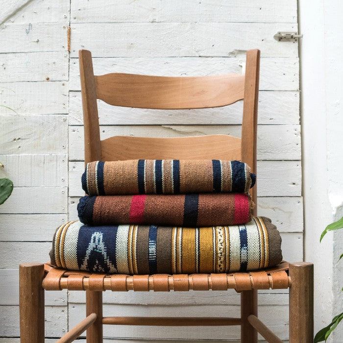 Ixcaco Throw 2: Organic Heirloom Cotton
