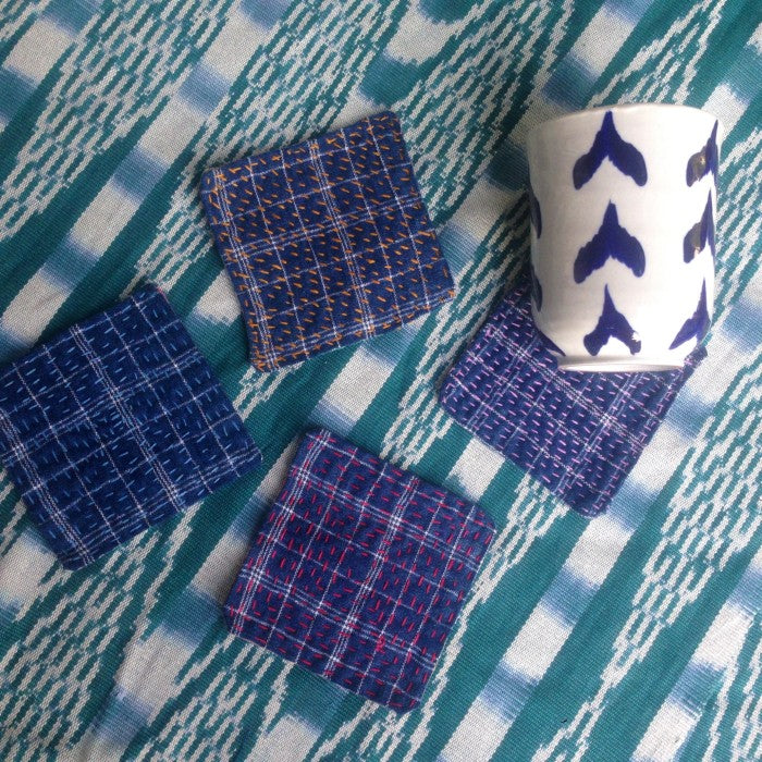 Ceramic Bundle: 2 Tumblers + 2 Tea Towels