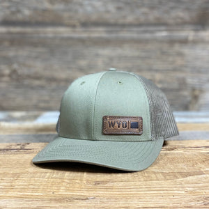 Open image in slideshow, WYO Patch Low Pro Trucker