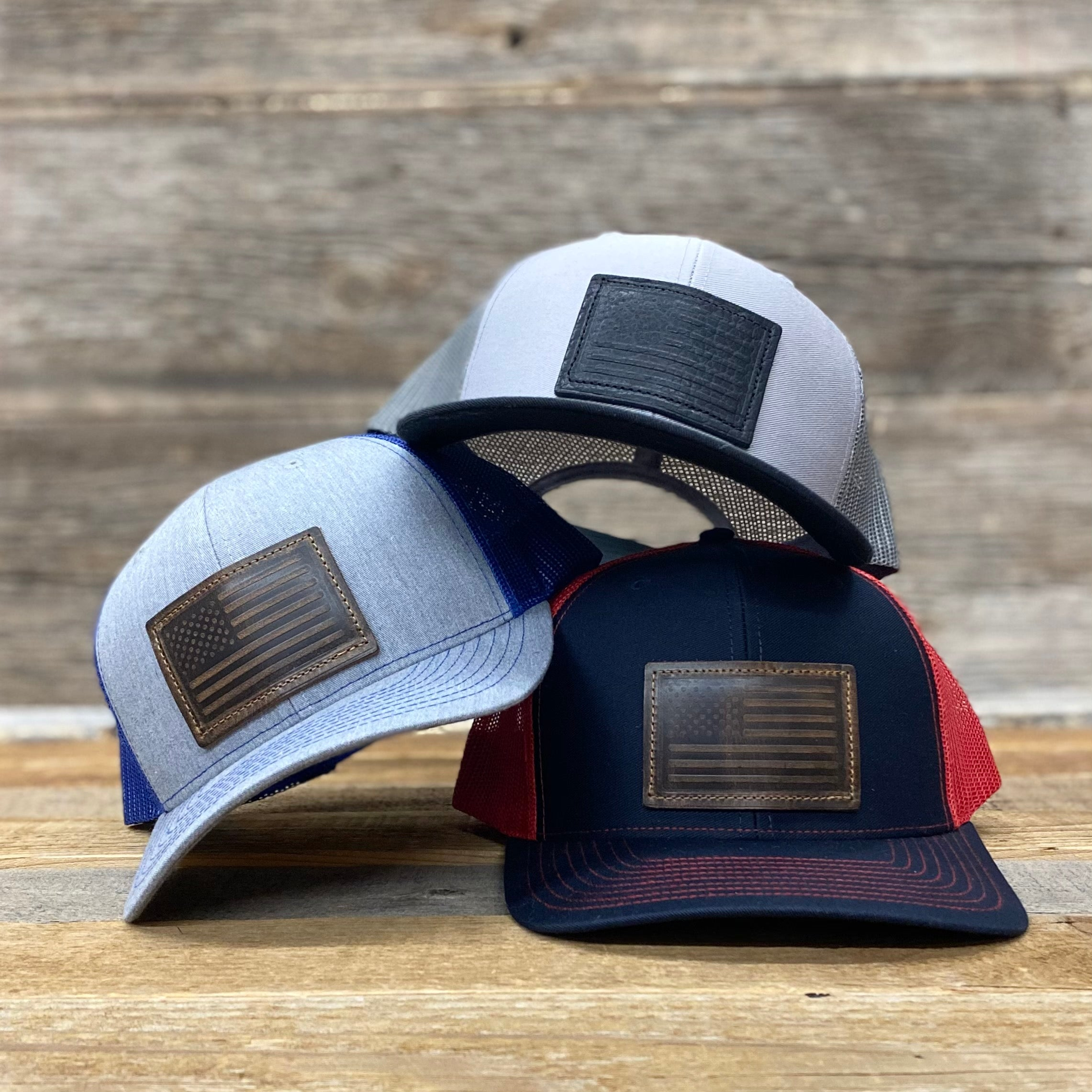 Flag Patch Premium Trucker Hats