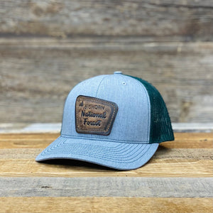 Open image in slideshow, Bighorn National Forest Patch Premium Trucker