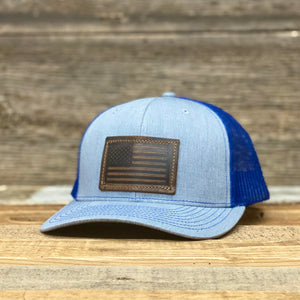 Open image in slideshow, Flag Patch Premium Trucker Hats