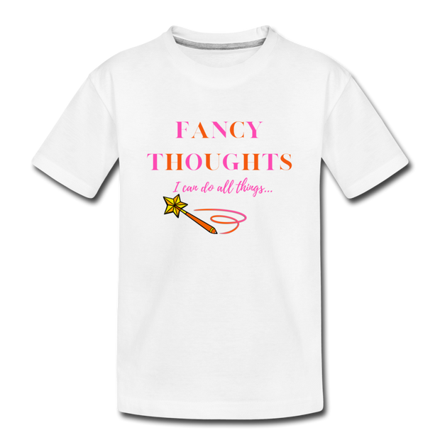 Fancy Thoughts Tee - white