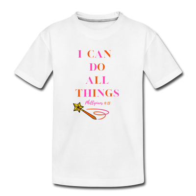 I Can Do All Things - white
