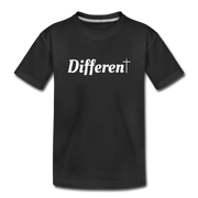 Girl's Different Tee - black