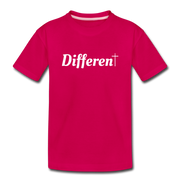 Girl's Different Tee - dark pink