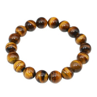 TIGER EYE Yellow Energy Bracelet (10mm) 'Vitality & Strength""