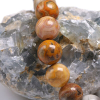 "AGATE 'Crazy Lace Agate' Energy Bracelet ""Credence"""