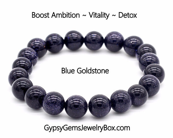 "GOLDSTONE Blue Energy Bracelet ""STARRY NITE"""