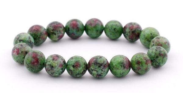 RUBY in ZOISITE Energy Bracelet