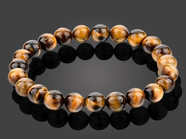 TIGER EYE Yellow Energy Bracelet Vitality & Strength""