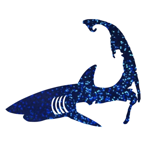Vinyl Sticker - Glitter Blue