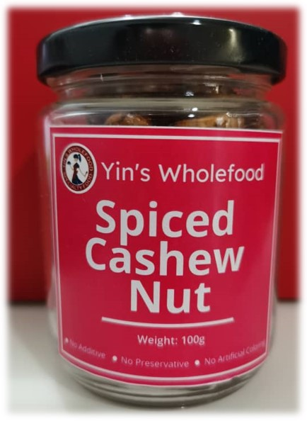 Spiced Cashew Nut by Yin's