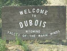 Dubois, WY...established 1914 or earlier?