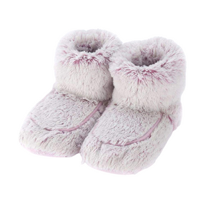 Cozy Warmies Slipper boots with lavender