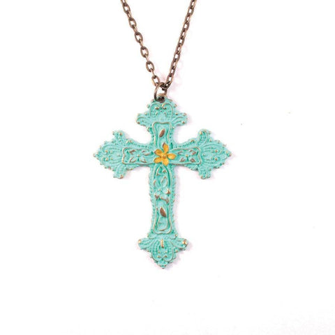 Southern Cross Necklace | Turquoise and Yellow