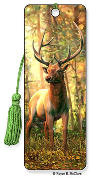 Elk 3D Bookmark | Made in the USA