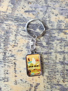 Yellowstone keychain
