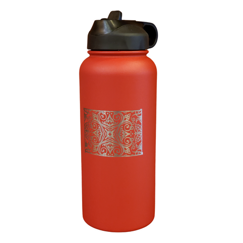 32 oz Wyoming Love Water Bottle