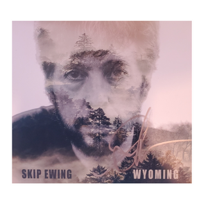 Skip Ewing Wyoming Autographed CD