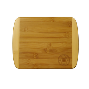 "11"" Bamboo cutting board with Wyoming engraving"