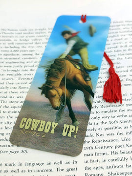 Cowboy Up 3D Bookmark | Made in the USA