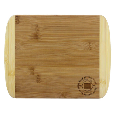 "Wyoming State Stamp Series 11"" Cutting Board"
