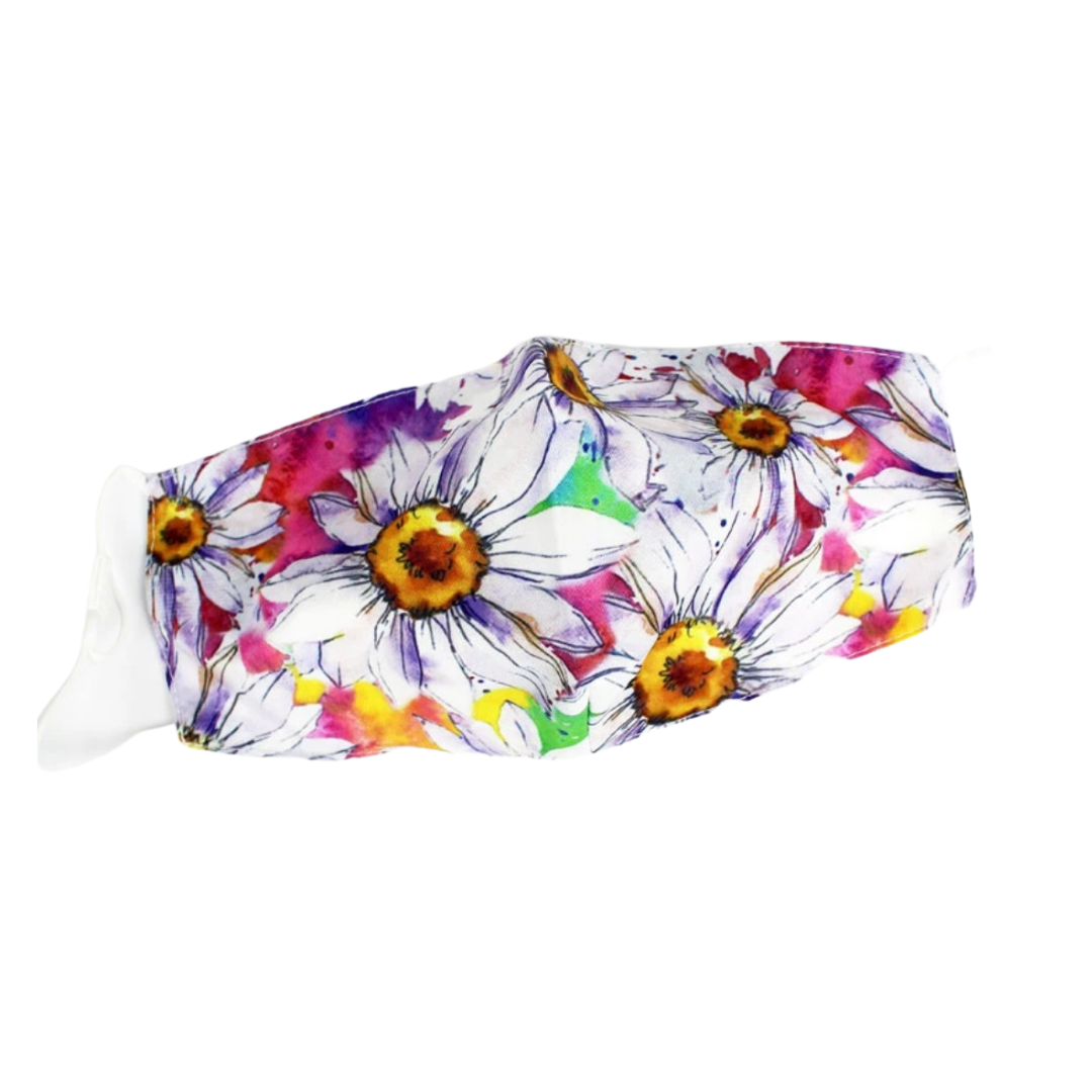 Bright daisies mask- non-surgical