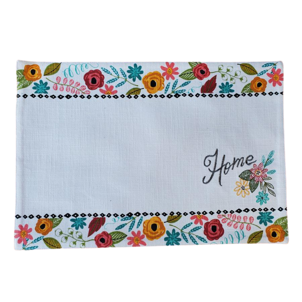 Spring home placemat