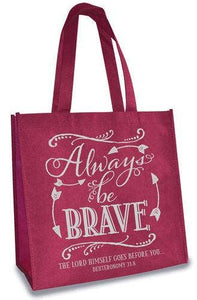 Eco Tote: Always Be Brave