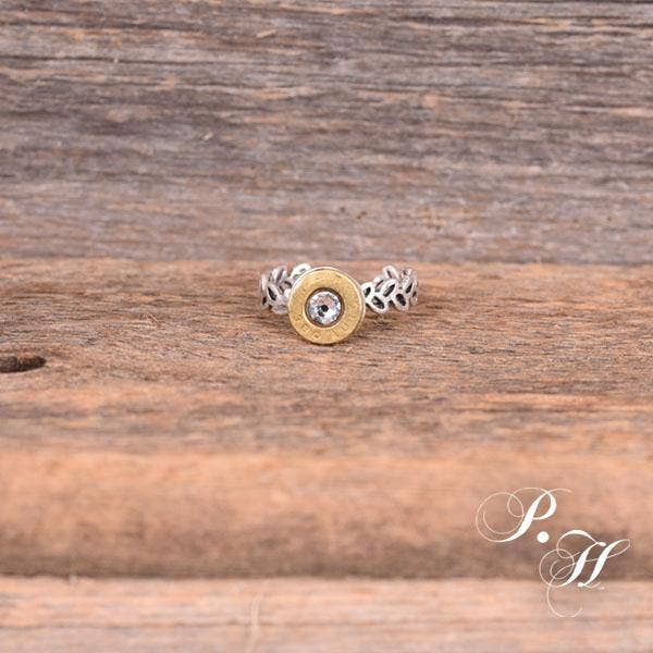 Delicate 9MM Brass RING