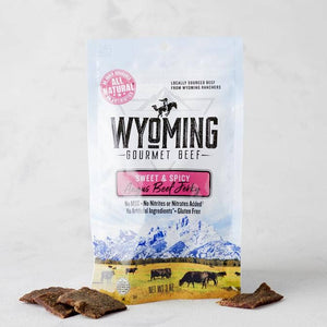3 oz. Sweet & Spicy Jerky | Wyoming Beef