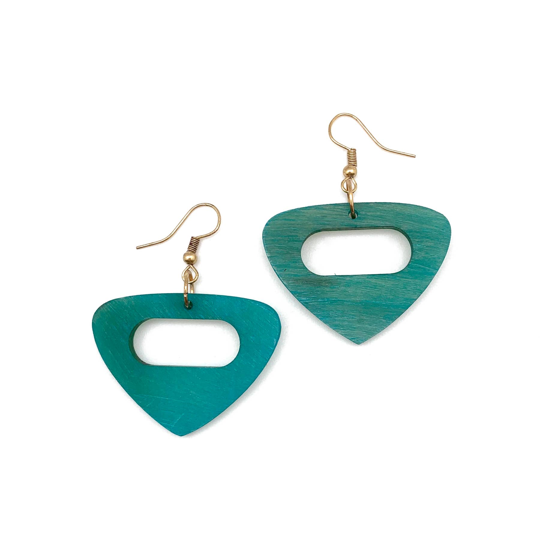 Omala Azure Coast Collection Earrings - Open Triangle